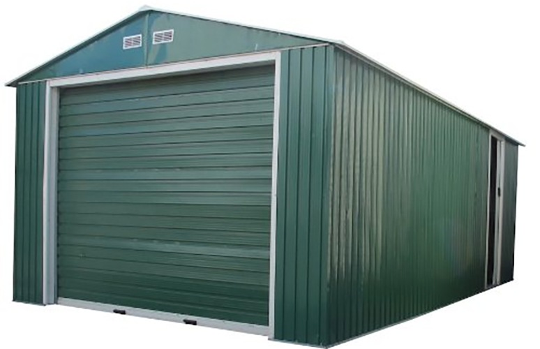 Duramax-Metal-Garage-Shed-and-Roll-Up-Garage-Door