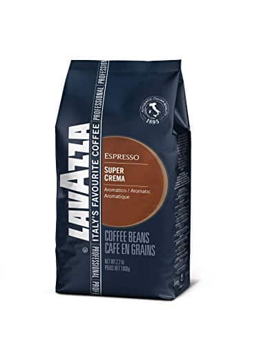 Lavazza Super Crema Whole Bean Coffee Blend- B000SDKDM4