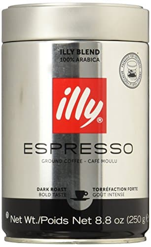 Illy Ground Espresso Coffee- B007PDDDWC