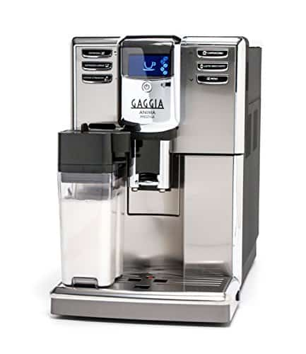 Gaggia Anima Prestige Automatic Coffee Machine, Super Automatic Frothing for Latte, Macchiato, Cappuccino, and Espresso Drinks with Programmable Options