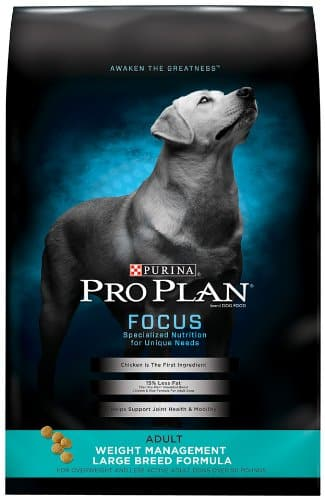 Purina Pro Plan FOCUS Weight Management Formula Adult Dry Dog Food