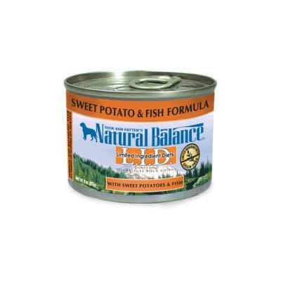 Natural Balance Limited Ingredient Diets Sweet Potato and Fish Formula Wet Dog Food