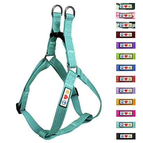 Pawtitas Pet Reflective Step-in Dog Harness