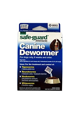 Safe-Guard Canine Dewormer for Dogs only