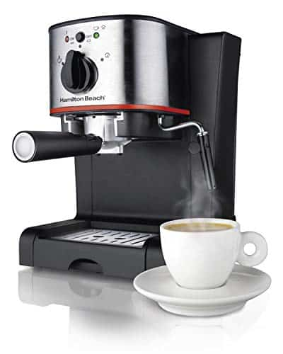 Hamilton Beach 40792 Espresso and Cappuccino Maker, Black
