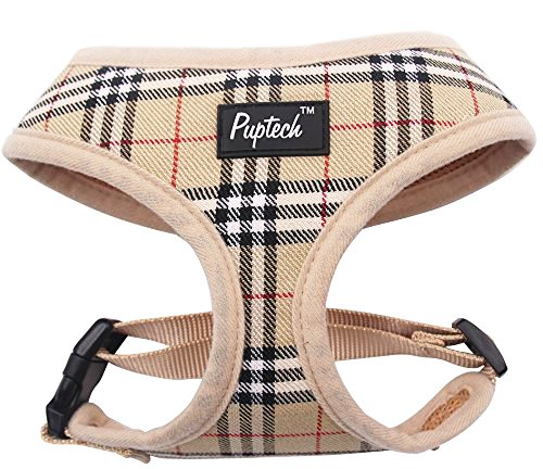 PUPTECK Soft Mesh Dog Harness