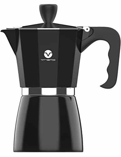 Vremi Stovetop Espresso Maker for Gas or Electric Stove