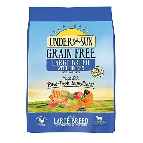Large Breed Adult Dog Food with Chicken, 25 Lbs. by Under the Sun