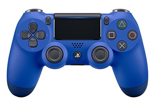 DualShock 4 Wireless Controller for PlayStation 4- Blue Wave