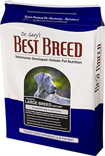 Best Breed Holistic Large Breed Dry Dog Food by Dr. Gary's