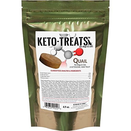 Ketogenic Pet Foods - KETO-TREATS - Starch Free Dog Treats.