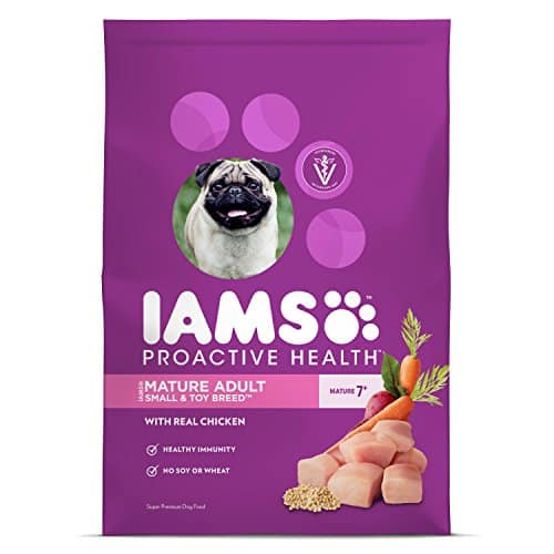 IAMS PROACTIVE HEALTH Small & Toy Breed Senior Dry Dog Food Chicken