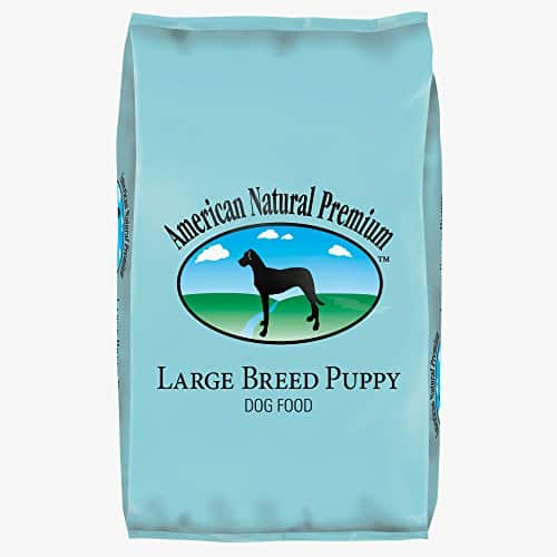 Premium Large Breed Puppy Recipe Dog Food by American Natural
