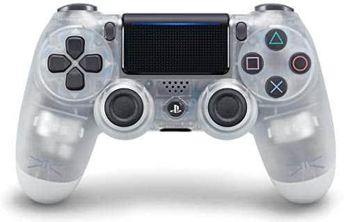 DualShock 4 Wireless Controller for PlayStation 4- Crystal