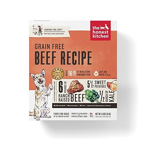 Honest Kitchen The Human Grade Grain Free Beef Dehydrated Dog Food