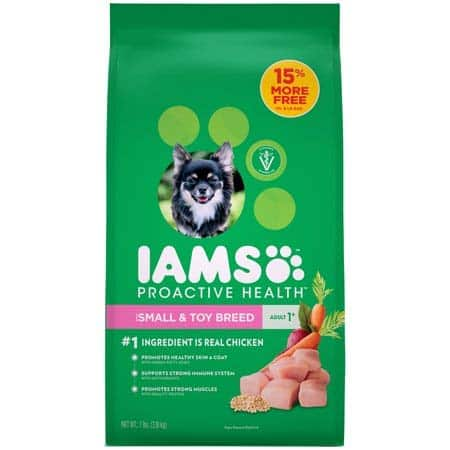 Iams Proactive Health Small & Toy Breed Adult Dry Dog Food Chicken