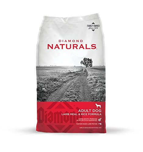 Diamond Naturals Real Meat Recipe Premium Dry Dog Food For Adults And All Life Stages Lamb Meat & Rice