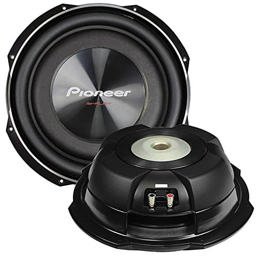 PIONEER TS-SW2502S4 10-Inch, 1.200 Watts Shallow Mount Subwoofer