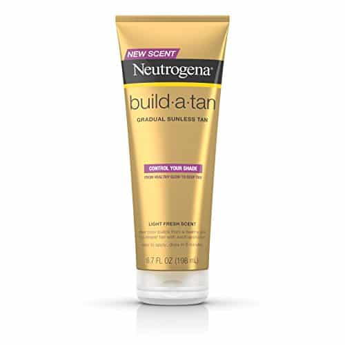 Neutrogena Build-A-Tan Sunless Tanning Lotion