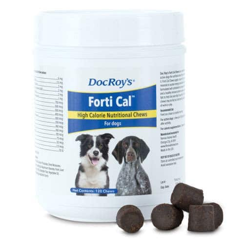 Doc Roy's FORTI CAL - 120 ct Soft Energy Chews for Dogs and Cats