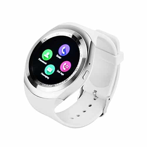 YUNTAB Y1 SmartWatch Touch Screen Support SIM Card with Pedometer Sleep Mode: