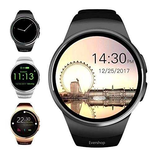 Evershop Smart Watch 1.5 inch IPS Touch Screen with SIM Card TF Card Slot-