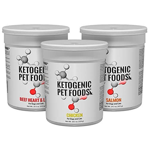 Ketogenic Pet Foods - High Protein, High Fat, Low Carb, Natural Dog & Cat Food -Chicken Flavor