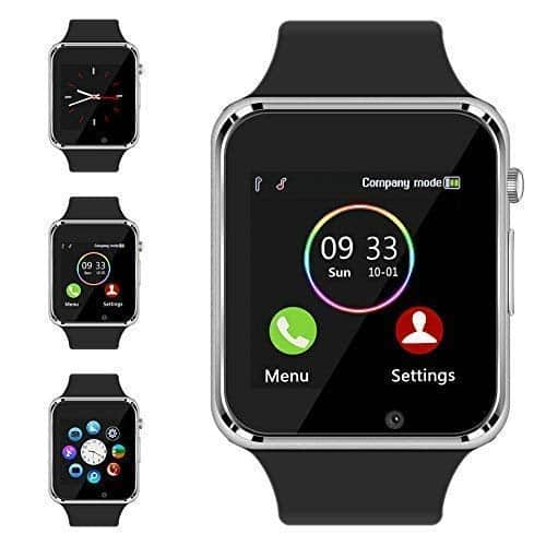 The Bluetooth Smart Watch Aeifond Touchscreen Sport Watch is another option of the among the list of Best Smartwatches Under 100 .