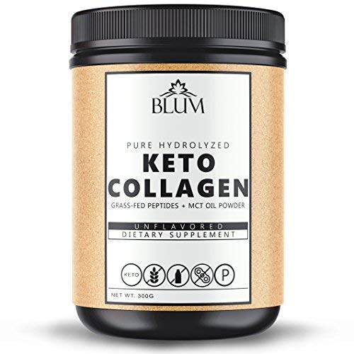 Keto Collagen Protein Powder Bovine Premium Hydrolyzed Supplement