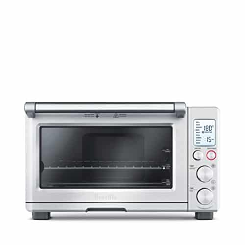 Breville B0V800XL Smart Oven 1800-Watt Convection Toaster with Element IQ, Silver