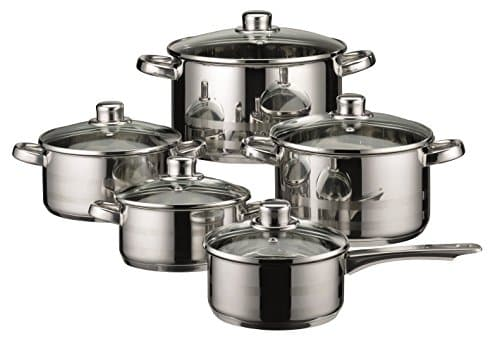 ELO Skyline Stainless Steel Kitchen Induction Cookware Pots and Pans