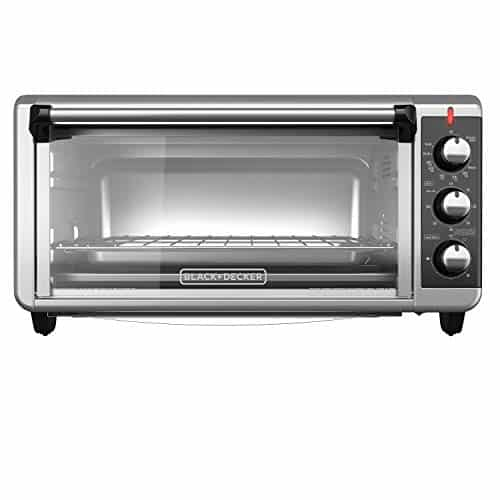 Black and Decker TO3250XSB 8-slice Extra Wide Convection Countertop Toaster Oven