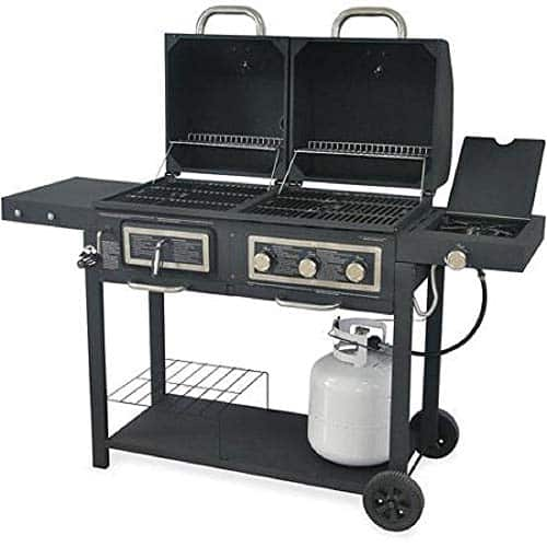 Dual Gas/Charcoal Grill by Backyard Grill