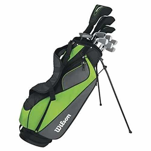 Wilson Men's Hyperspeed Complete Standard Golf Club Set & Bag WGGC4T310 (Right)