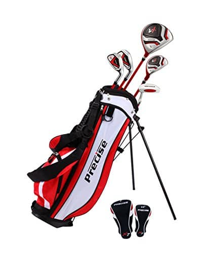 PreciseGolf Co. Precise X7 Junior Complete Golf Club Set for Children Kids- 3 Age Groups Boys & Girls- Right Hand & Left Hand