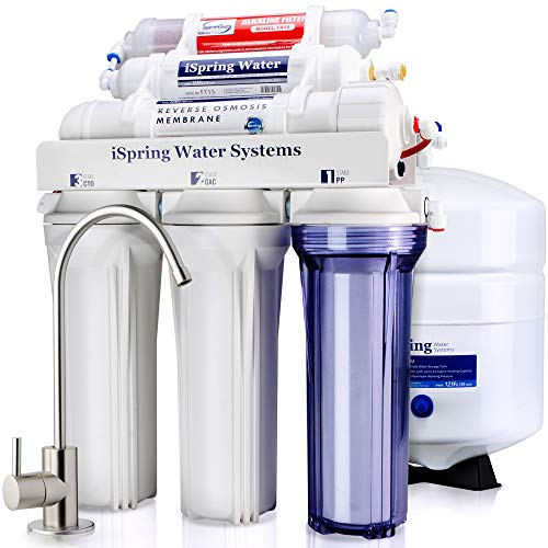 iSpring RCC7AK 6-Stage Superb Taste High Capacity Under Sink RO Water Filter System
