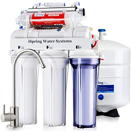 iSpring RCC7AK-UV 7-Stage Under-Sink Reverse Osmosis Drinking Water Filtration System