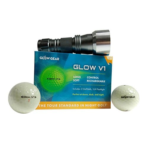 Ultra Bright Night Golf Balls by Glowgear