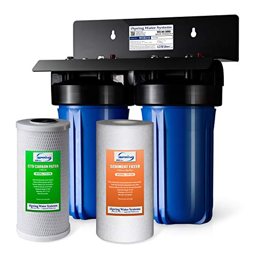 iSpring WGB21B 2-Stage Whole House Water Filtration System