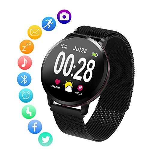Amerzam Smart Watch for Android iOS Phones