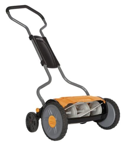 Fiskars 17 Inch StaySharp Plus Reel Mower