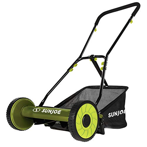 Snow Joe MJ500M 16-Inch Manual Reel Mower