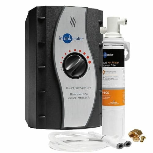 InSinkErator - Instant Hot Water Tank & F-1000S Filtration