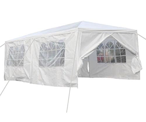 Qisan Canopy Tent Carport White - Calm Environment Only