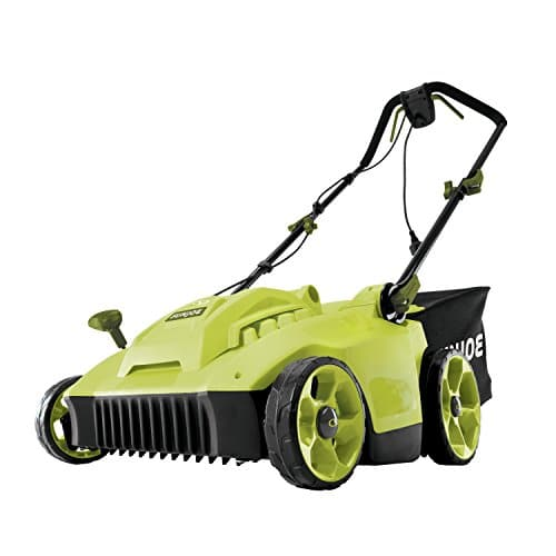 Sun Joe 16-Inch 6.5 Amp Quad Wheel 24-Blade Electric Reel Lawn Mower