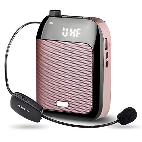 UHF Wireless Portable Vocal Amplifier Microphone Sound Amplifier