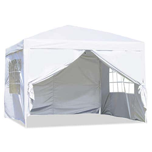 CharaHOME Canopy Tent Pop Up Portable Shade Outdoor Gazebo