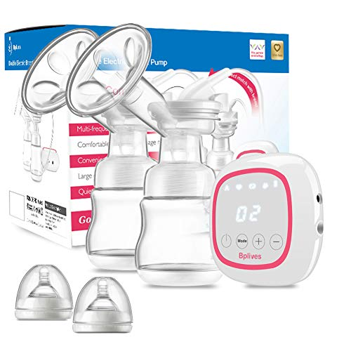 Portable Dual Breastfeeding Pump with Touch Screen