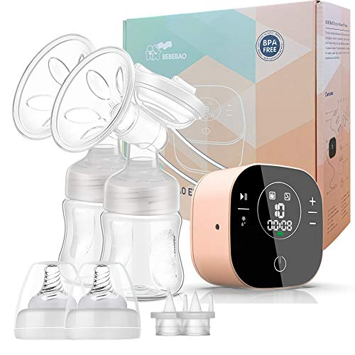 Hospital Grade Double Electric Breast Pump for Home & Travel