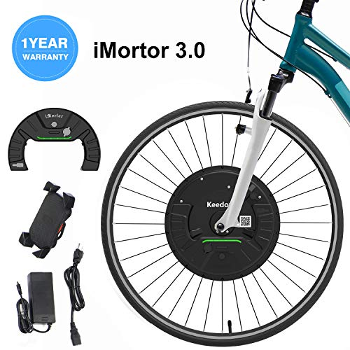 iMortor 3.0 Wireless Electric Bike Front Wheel Conversion Kits